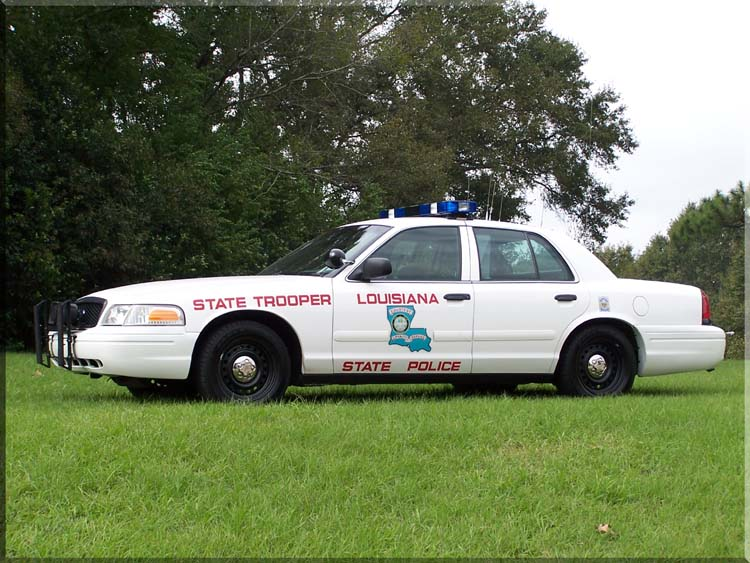 Ford Crown Victoria. Louisiana State Police. Foto: J.Riem