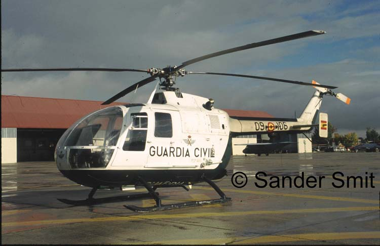 BO 105 van de Guardia Civil. Foto: S. Smit