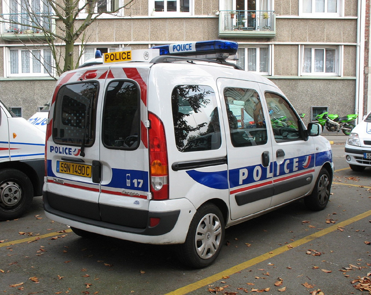 Lille Police Nationale Renault Kangoo. Foto: P. Gravemaker