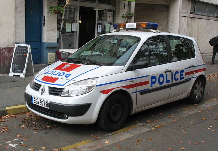 Lille Police Nationale Renault Mégane 2007. Foto: P. Gravemaker