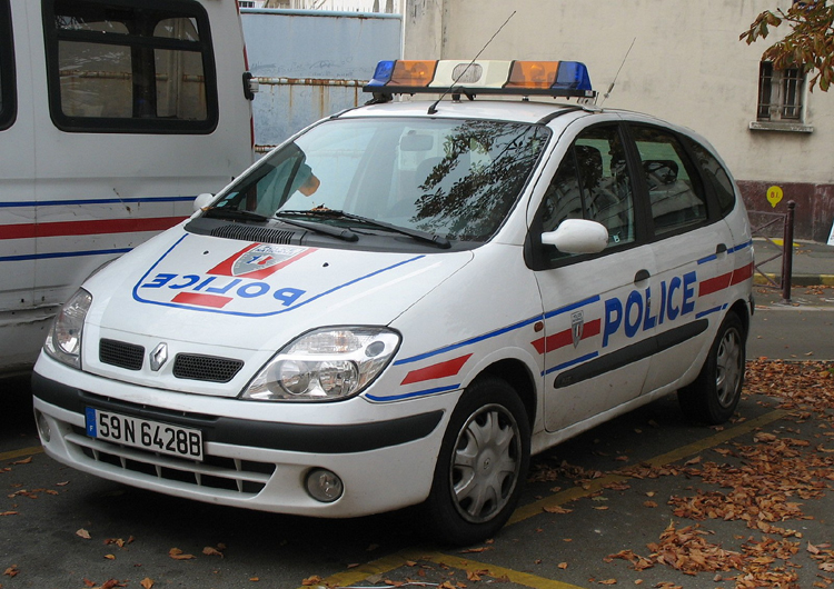Lille Police Nationale Renault Scénic 2007. Foto: P. Gravemaker